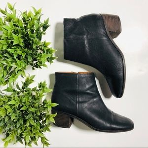 Lucky brand leather bootie